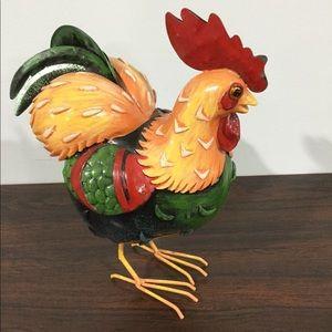 Other - Metal chicken figurine